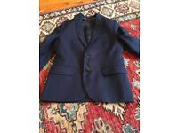 H&M boys jacket - navy age 6-7