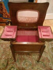 1940's small sewing table