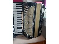 Hohner Lucia 4 voice 96 bass for sale.