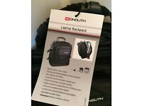 Backpack - black - brand new - cost £52