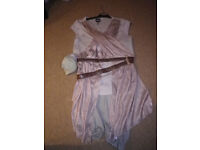 STAR WARS Ray Costume/Dress Up Age 9-10 Years