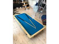 Riley pool table 5ft SOLD