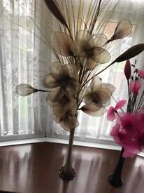 Fake decorative flowers