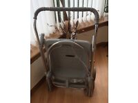 Two in one Maclaren reflection pram and buggy fully collapsible