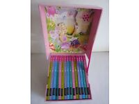CHILDREN'S BOOKS - BARBIE SPARKLY STORY COLLECTION (15 BOOKS IN A MUSICAL BOX)
