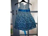 Girls pattern Dress 3-4 years