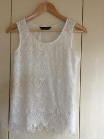 Dorothy Perkins Ivory-White top