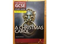 A Christmas Carol, York Notes Study Guide GCSE 9-1