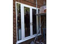 White UPVC Patio Doors (Anglian Windows)