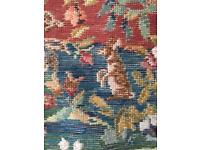 IVO chair tapestry needlepoint kit on trammed canvas