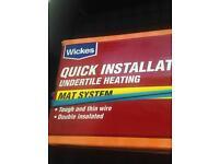 Underfloor heating mat system new.ovno