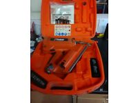 Paslode im350/90 CT.gd gun with 2 batteries charger