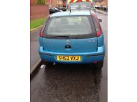 Corsa 1.0 life, MOT May 2018,power steering, electric windows, CD player, drives great,