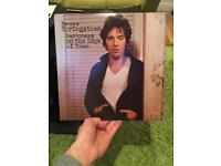 Bruce Springsteen - Darkness on the edge of town LP - good condition