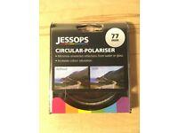 Jessops 77mm Circular-Polariser Filter, Unused, in packaging