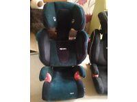 Recaro Monza car seat - very good condition.