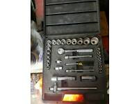 Stanley socket set excellent condition