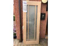 Brand new oak doors
