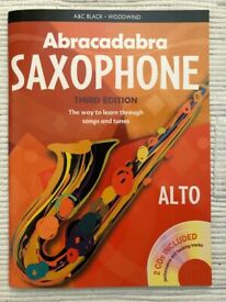 Abracadabra Saxophone with CDs - perfect condition