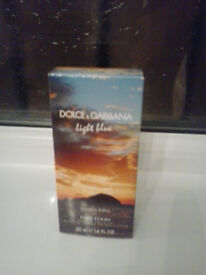 ladies dolce & gabbana sunset in salina 50ml limited edition (genuine item boxed not wrapped