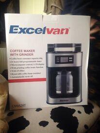 Excelvan coffee machine with grinder