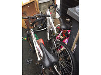 Two Bikes free for parts or repair