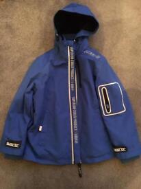 7-8 boys fleece lined storm wear jacket - unworn