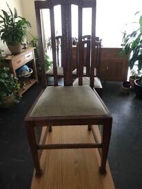 4xDinning chairs