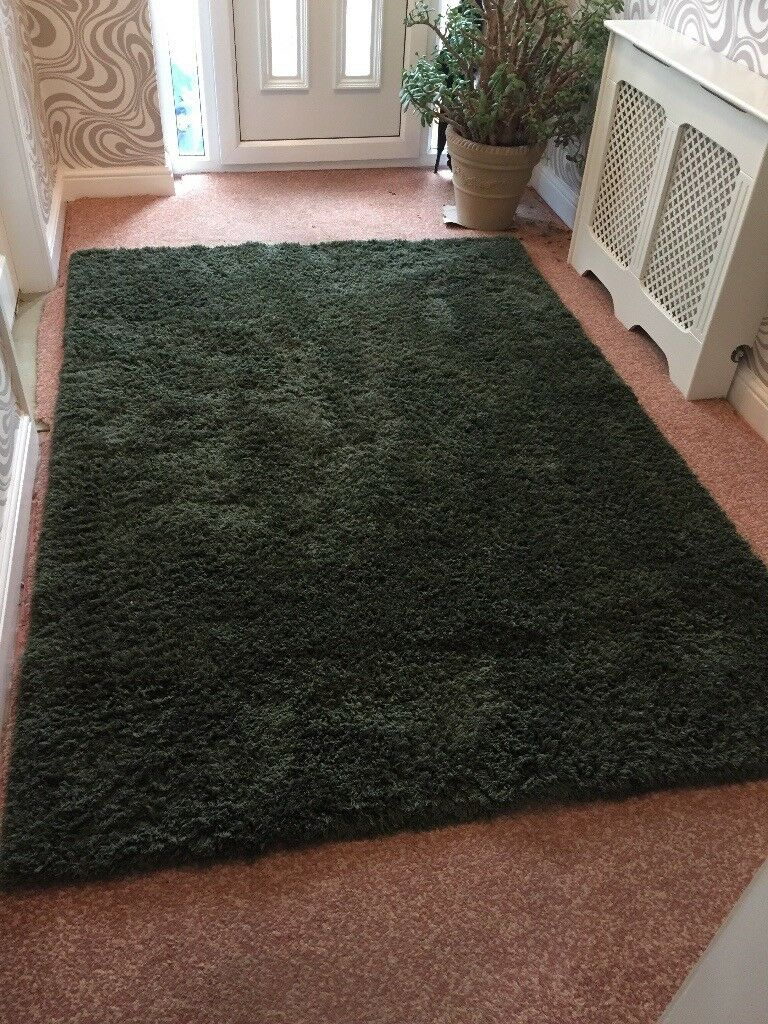 Next Jungle Green Rug In Wirral Merseyside Gumtree
