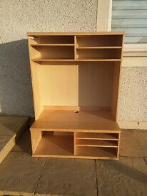 Large Wooden TV kabinet