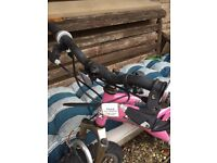 Girls bicycle barely used