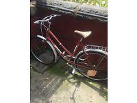 Vintage Pannonia bike