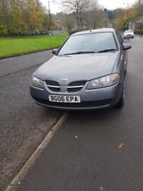 2006 Bargain Stanning Nissan Almera, 1497cc Perfect Condition
