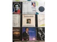 8 x David Alexander CD Albums