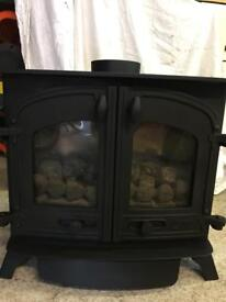 Yeoman Exminster LPG (calor gas) coal effect stove