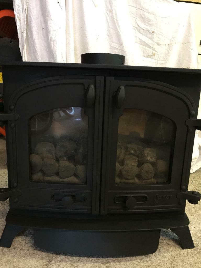 Yeoman Exminster LPG (calor gas) coal effect stove