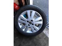 """Vauxhall astra sxi 16"""" alloy wheel and tyre"""