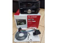 Pioneer FH-X700BT Double Din CD/MP3 system with built in Bluetooth iPod/iPhone