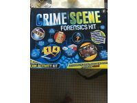 Crime scene forensics kit - great for kids!