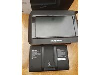 "Next base 8.5"" display tablet dvd player boxed"