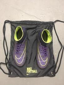 nike hypervenom phantom size 7.5 football boots
