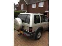 Isuzu trooper 3ltr diesel turbo T reg 1999 2 door s/w base
