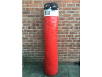 Full Height Sparring Bag & Gloves