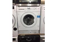 Integrated 8kg washing machine warranty included call today or visit us