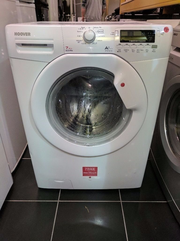 Hoover Washing Machine (7kg6 Month Warrantyin Liverpool City Centre, MerseysideGumtree - Hoover Washing Machine (7kg, 1600 spin) Excellent Condition 6 Month Warranty Free Local Delivery Removal Of Old Appliance Many Makes and Models Liverpool Appliances 25 County Road Walton L4 3QA