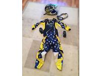 Kids 9-10 fly racing motocross kit