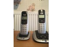 Twin BT landline phones