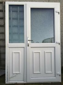 PVC door and side panel