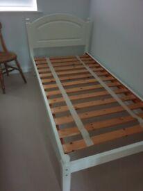 Single Bed Frame & Pocket Sprung Mattress