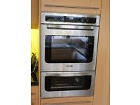 Kitchen Appliances, double oven, gas hob, cooker hood, slim dishwasher